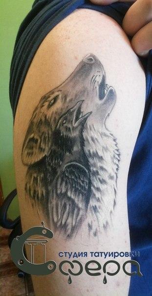 Значение татуировки ворон. Символика тату 52
