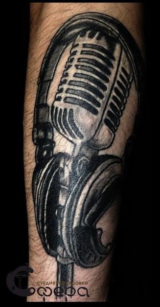 Тату микрофон